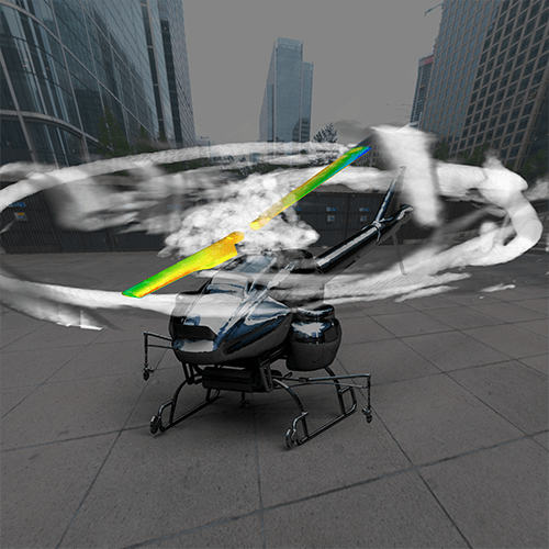 A vision of sound: Yamaha Motor shares how fluid-structure acoustics co-simulation helps in the design and development of unmanned helicopters for industrial use