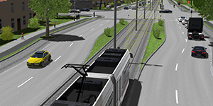 ADAS and autonomous solutions for trams and off-road transportation