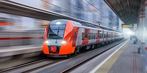 Sound Attenuation Prediction of High Speed Railway Sound Barrier with Actran